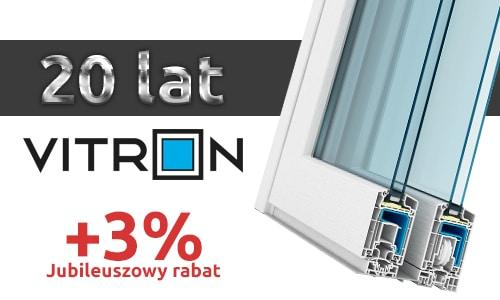 20-lecie firmy Vitron - Jubileuszowy rabat