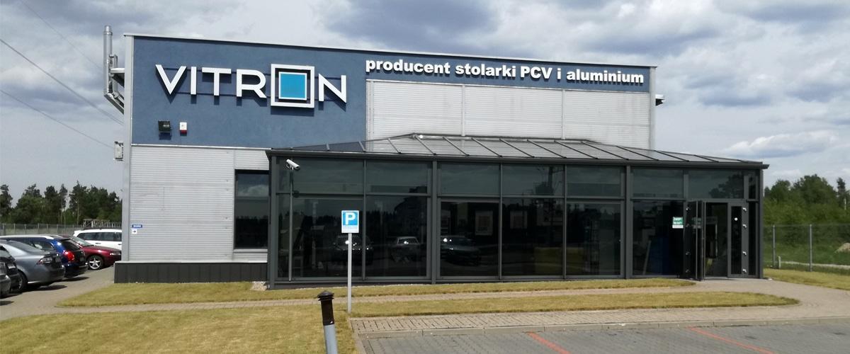 Vitron - okna Białystok siedziba