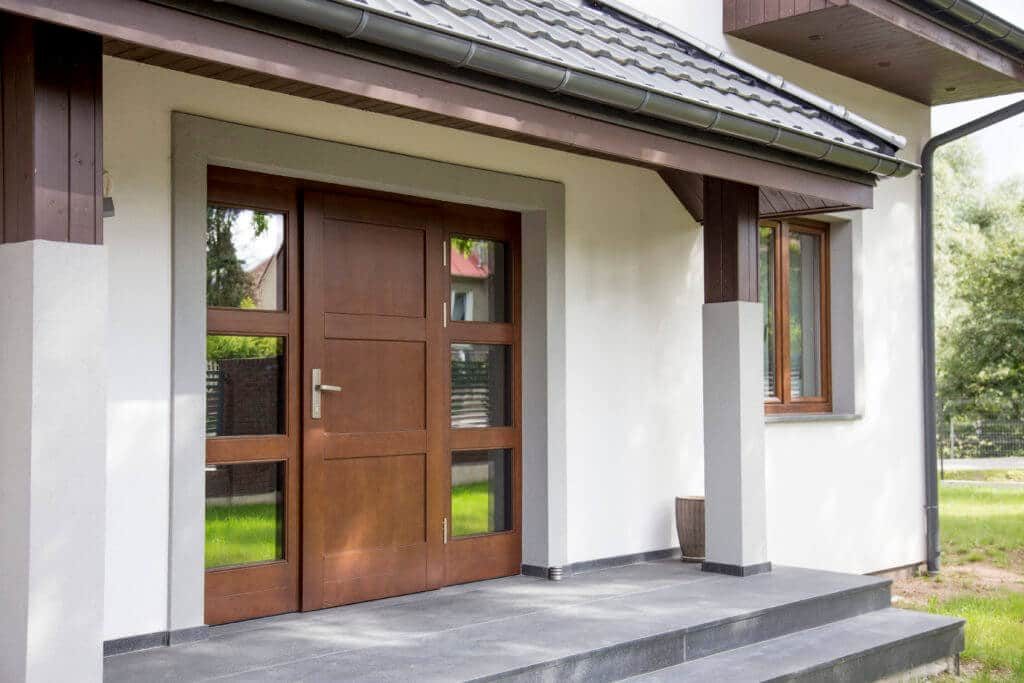 jakie drzwi drewniane